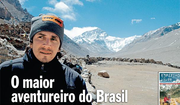 O maior aventureiro do Brasil