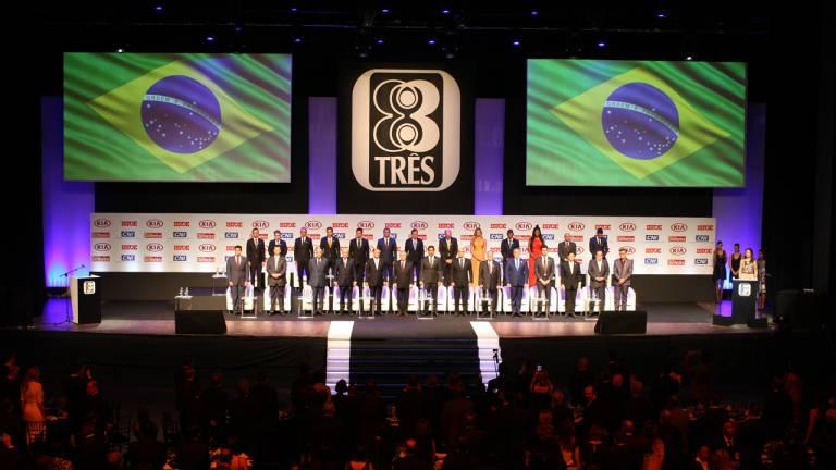 Na noite desta terça-feira (06), a revista IstoÉ homenageou as personalidades brasileiras que mais se destacaram no País ao longo de 2016.