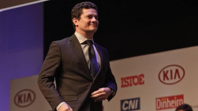 Sergio Moro, um dos grandes destaques do Prêmio Brasileiros do Ano 2016 da revista Istoé.