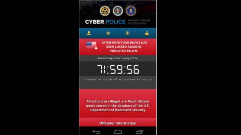 Alguns ransomwares se disfarçam de informes oficiais de autoridades e cobram uma