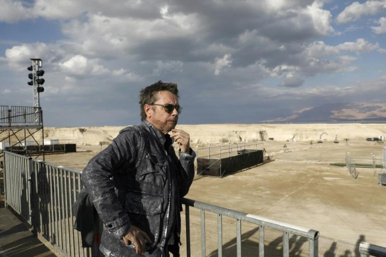 Jean-Michel Jarre fará show para alertar sobre desaparecimento do Mar Morto