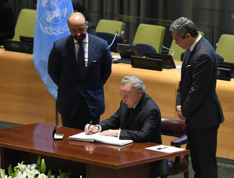 Brasil inicia na ONU o processo de assinatura de tratado contra armas nucleares