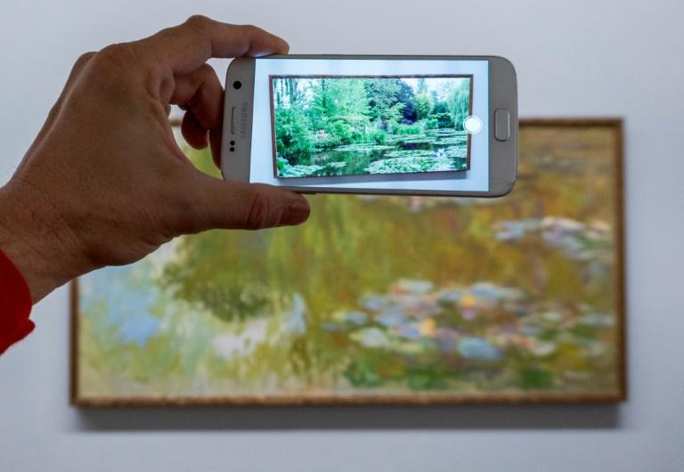 Curta a natureza com as obras de Monet