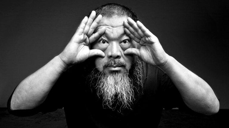 Retrato de Ai Weiwei em versão ex-voto