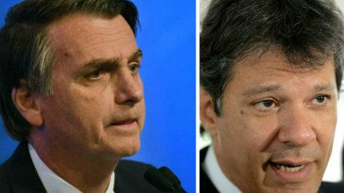 Haddad associa Bolsonaro ao nazismo e diz que rival é 'grandessíssimo mentiroso'