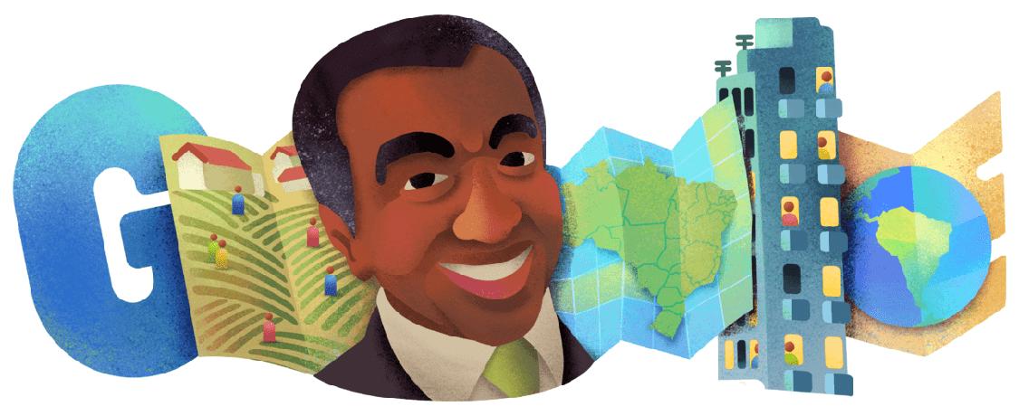 Milton Santos ganha homenagem do Google
