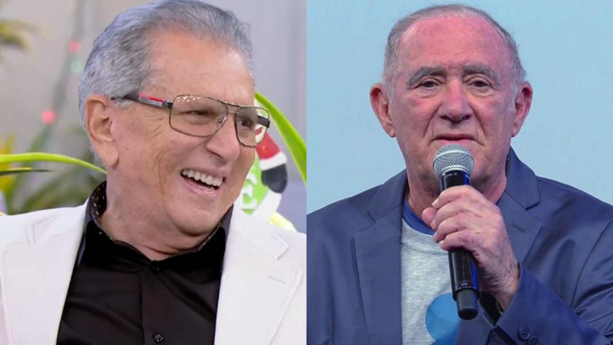Crédito: Reprodução/SBT/Reprodução/TV Globo