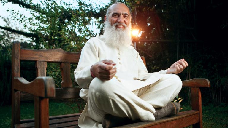 O guru Sri Prem Baba foi acusado de assédio em agosto por várias discípulas de sua comunidade