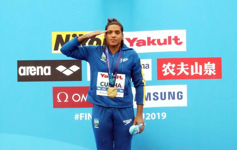 Ana Marcela Cunha conquista segundo ouro no  Mundial de Esportes Aquáticos