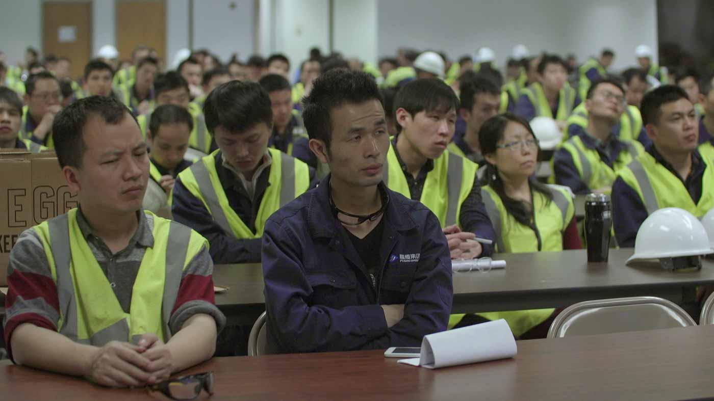 A empresa foi transparente a abriu todas as portas de suas fábricas e muitos de seus números para a produção do film