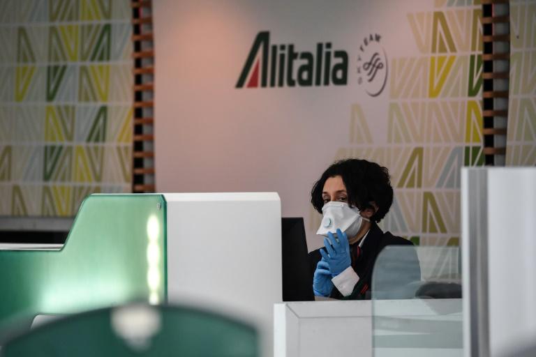 Itália prevê a nacionalização da Alitalia devido ao coronavírus