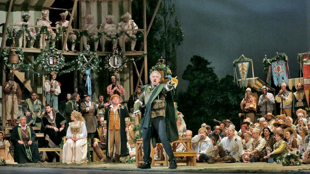 Drama Uma noite na ópera