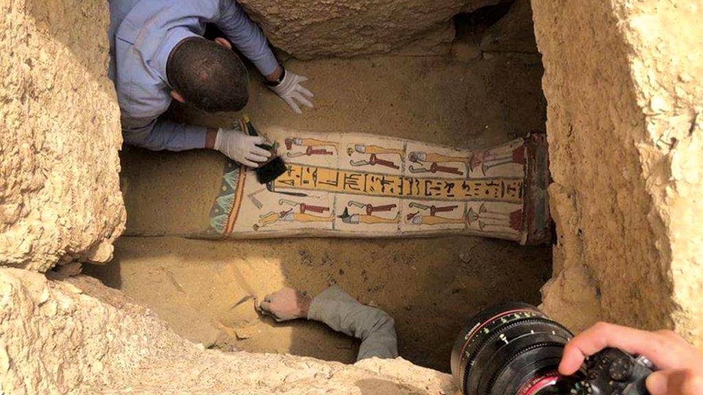 Crédito:  Ministério de Antiguidades do Egito