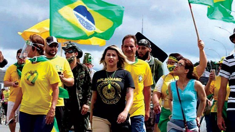 Ódio - Citada em inquérito, a ativista Sara Winter ameaça ministro do STF Alexandre de Moraes