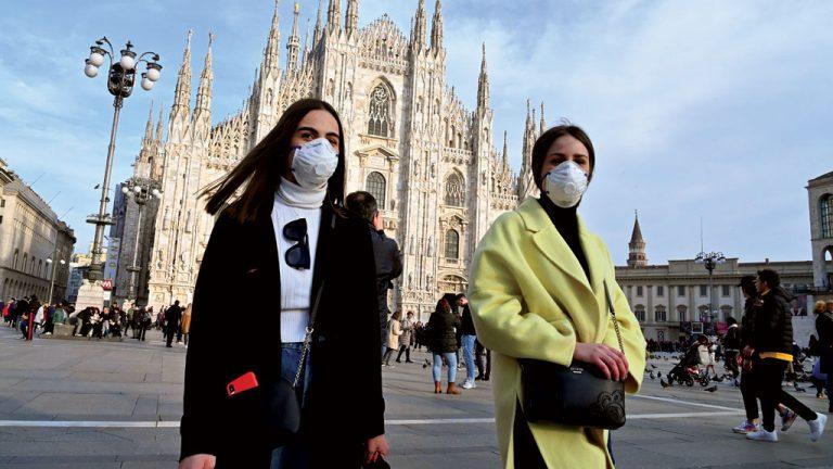 ITÁLIA Mudanças em Milão: máscaras nas ruas e ampliação de ciclovias para evitar aglomerações