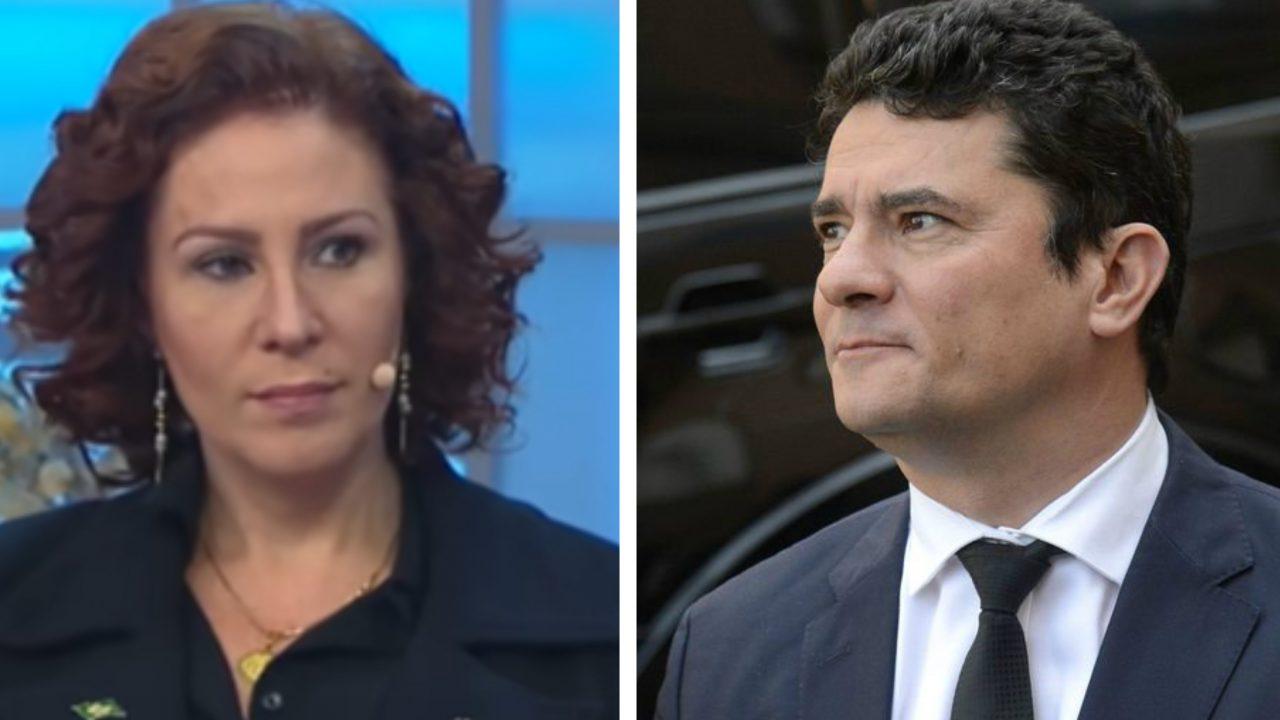 """""""Contribuiu para reeleição do presidente"""", diz Carla Zambelli para Moro"""