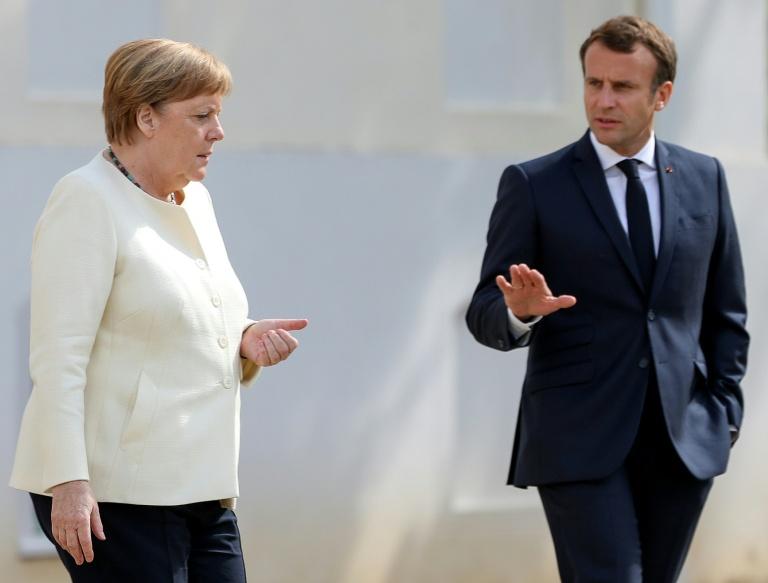 Merkel e Macron pedem acordo para reativar UE em julho