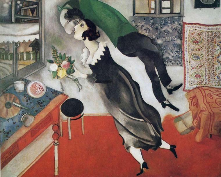 Marc Chagall: O pintor russo que nos faz mergulhar em um conto de fadas