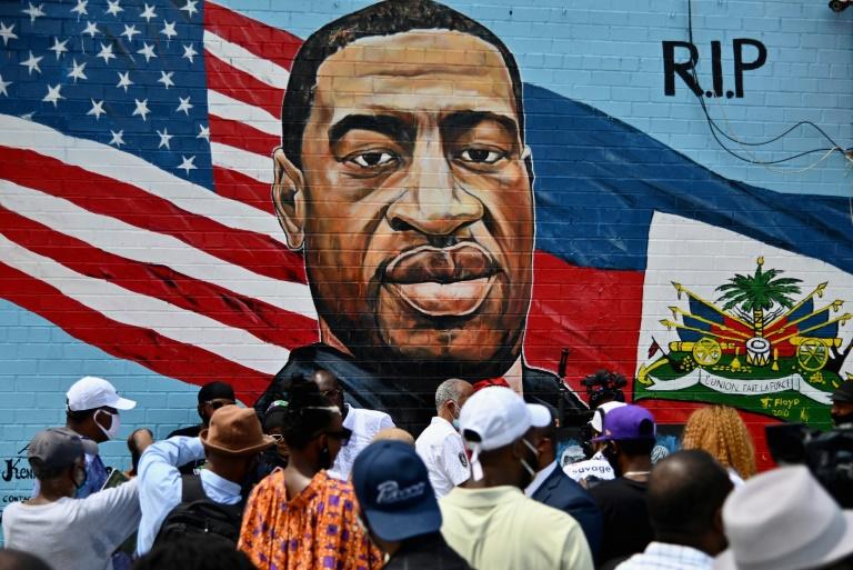 A morte de George Floyd foi o estopim para os protestos de 2020. (Foto: AFP/Arquivos)