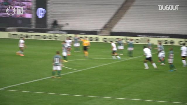 Confira os gols do Corinthians na vitória sobre o Coritiba
