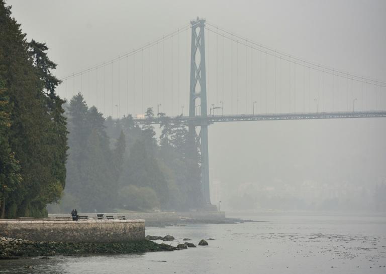 Vancouver sofre com densa fumaça proveniente dos incêndios florestais nos EUA