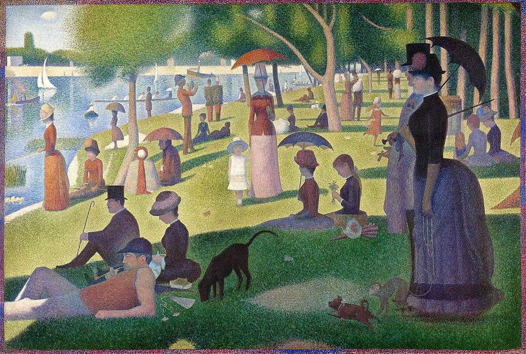 Seurat: A arte da percepção e da paciência