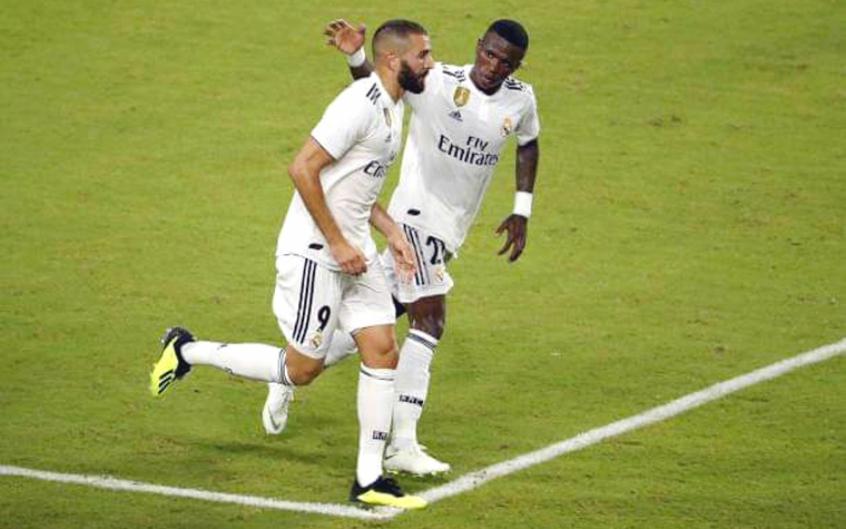 Programa supõe crítica de Benzema a Vinícius Jr.: 'Joga contra a gente'