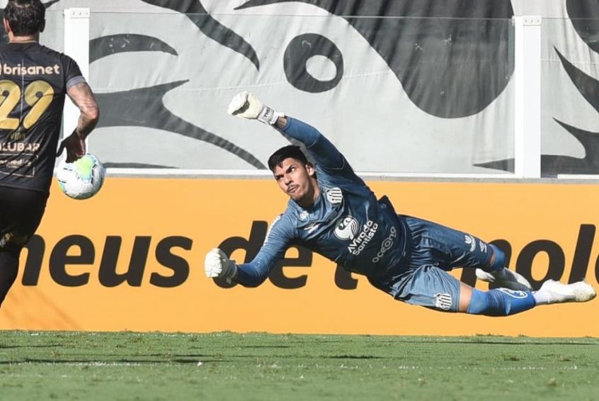 João Paulo valoriza empate entre Santos e Ceará: 'Resultado foi justo'