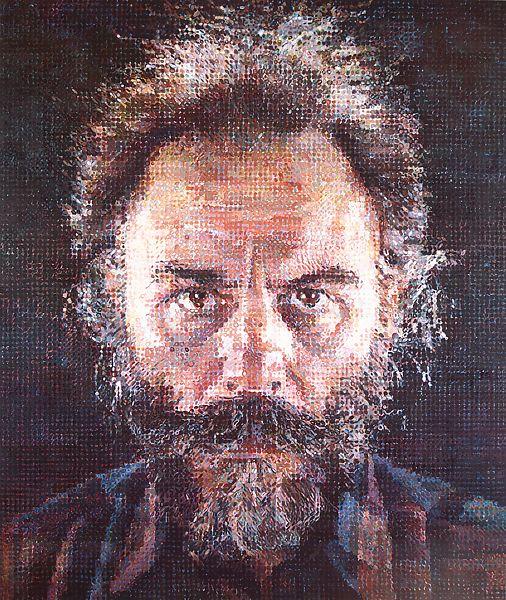 Chuck Close: A pintura que cria a ilusão da fotografia