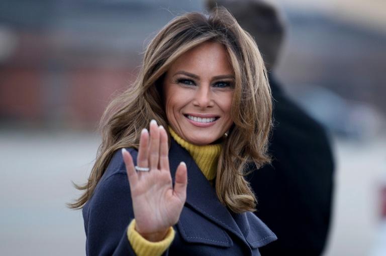 Melania Trump, a primeira-dama discreta