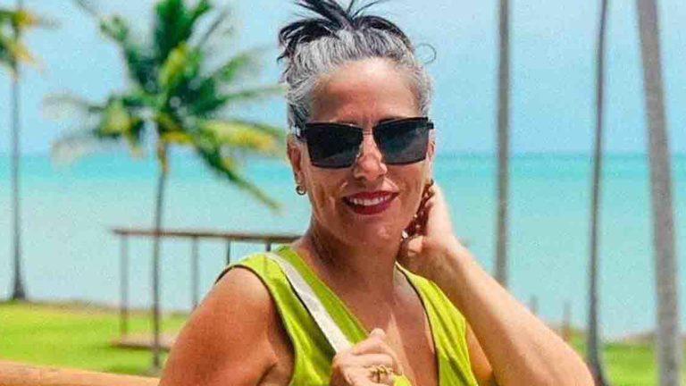 Glória Pires está em Milagres, em Alagoas, com a família.