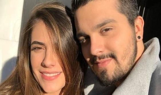 Luan Santana e Jade Magalhões