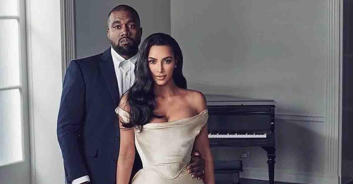 Kanye West chora com música sobre vida ao lado de Kim Kardashian