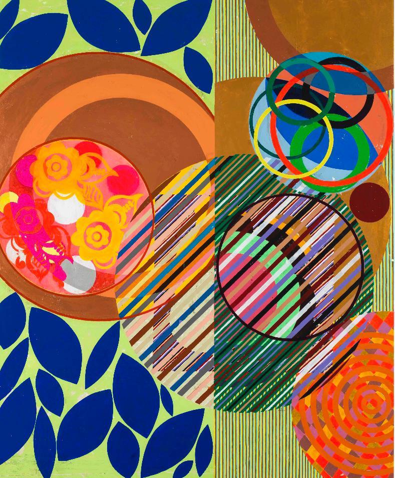 As cores de Beatriz Milhazes estão no MASP e no Itaú Cultural