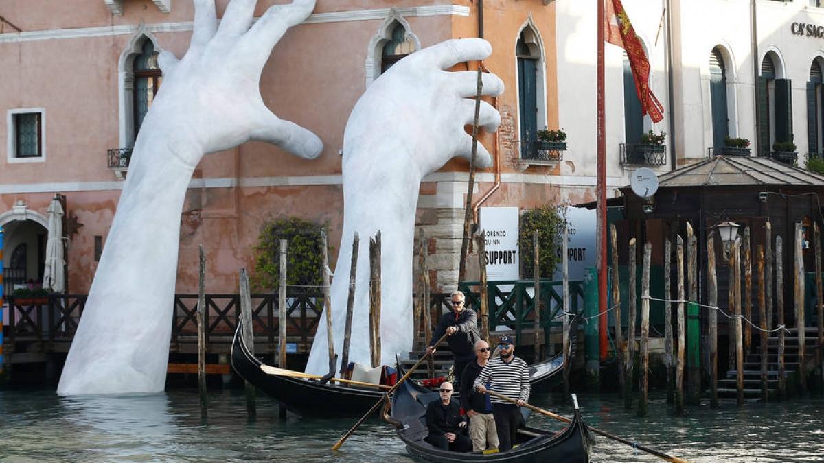Lorenzo Quinn: Mãos para defender grandes causas mundiais