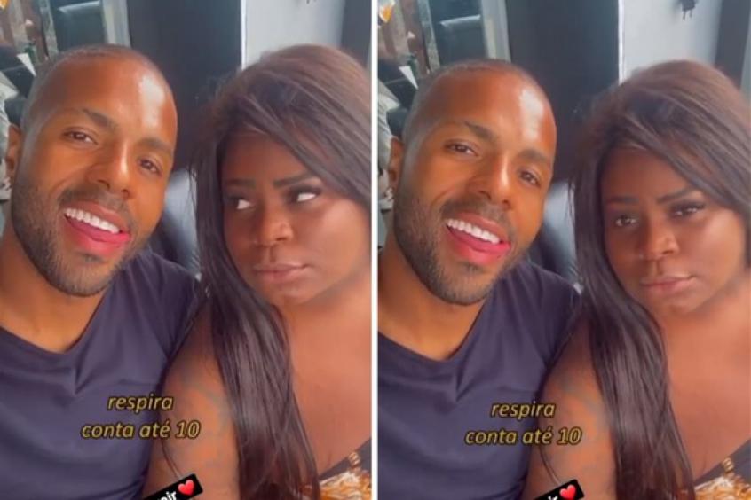 Modelo vaza print de conversa com ex-São Paulo após relacionamento relâmpago com Jojo Todynho