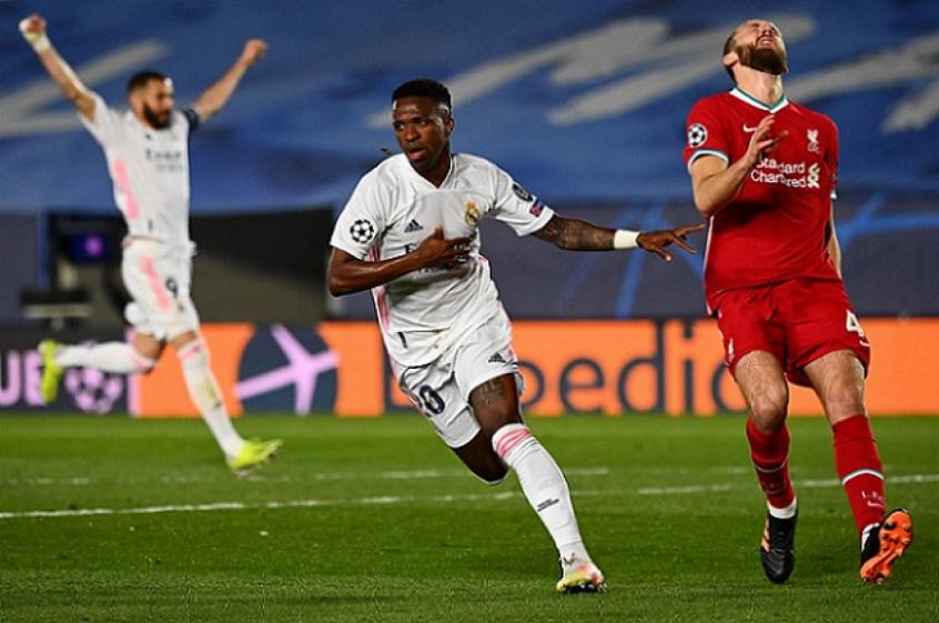 'Extraordinária': impresa espanhola repercute atuação de Vini Jr na vitória do Real Madrid sobre o Liverpool