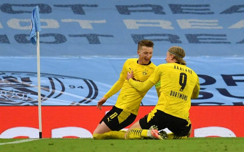 Reus diz que Borussia Dortmund jogou bem, mas lamenta gol sofrido no final: 'Estamos irritados'