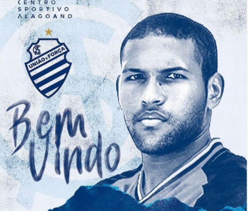 CSA anuncia a chegada do zagueiro Matheus Felipe