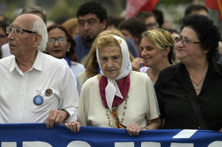 Morre aos 95 anos a vice-presidente das Mães da Praça de Maio na Argentina