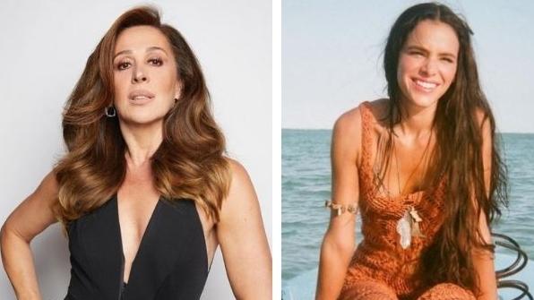 Claudia Raia elogia ensaio de Bruna Marquezine: 'Que lindeza minha norinha'