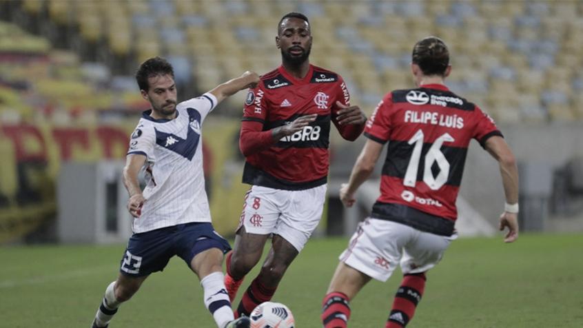 Flamengo empata com o Vélez, mas garante liderança do grupo G da Libertadores