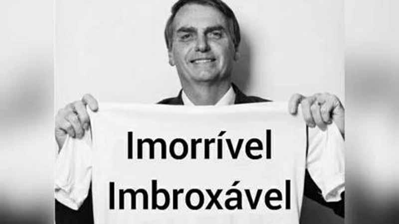 Em dia de protestos contra o governo, Bolsonaro volta a dizer ser 'imorrível'