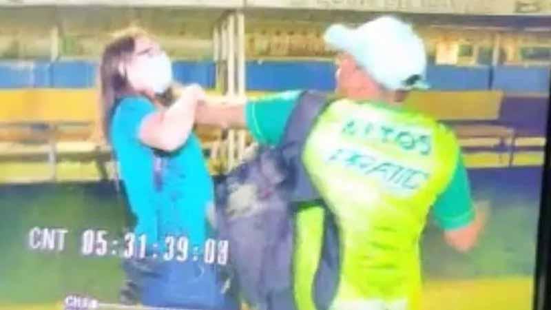 Jornalista é agredida por gravar briga entre clubes rivais do Piauí