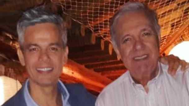 Pai de Otaviano Costa faz aniversário e ganha homenagem do filho