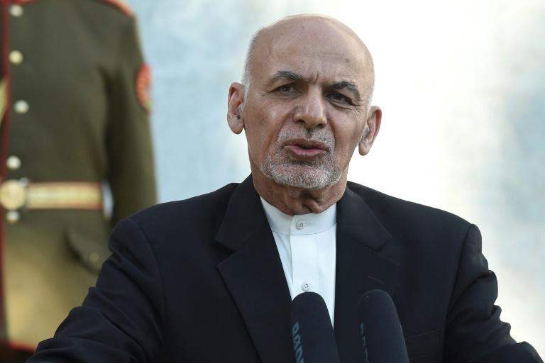Qual a situação do Afeganistão antes da visita de seu presidente a Washington?