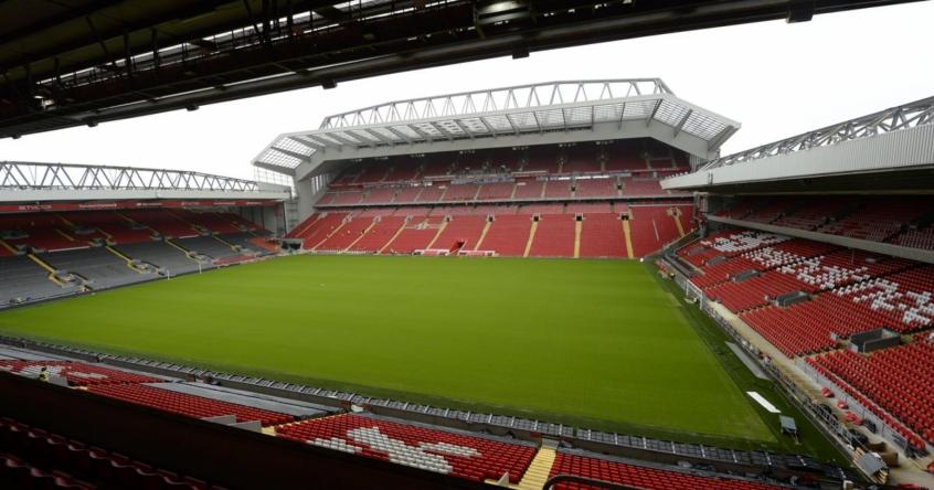 Liverpool ganha autorização para ampliar capacidade do Anfield
