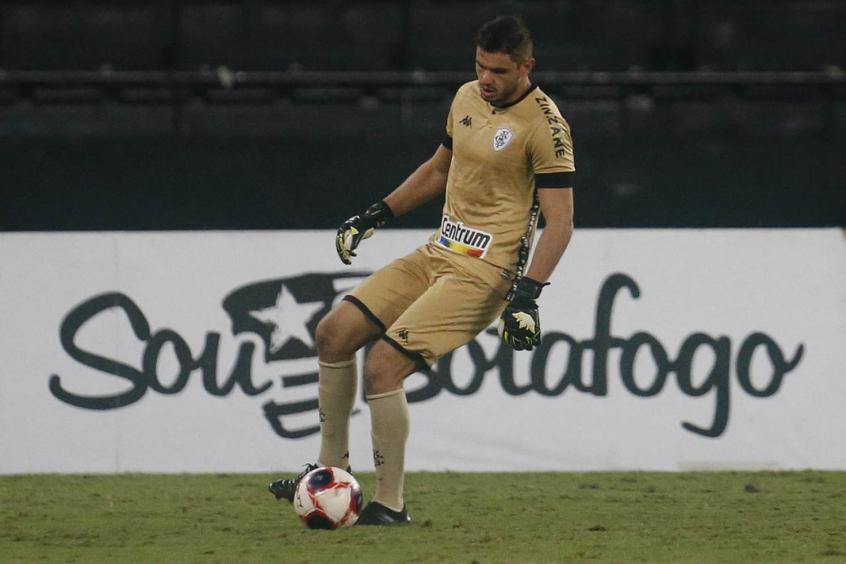Douglas Borges valoriza jogo do Botafogo em Volta Redonda: 'Sempre um prazer'