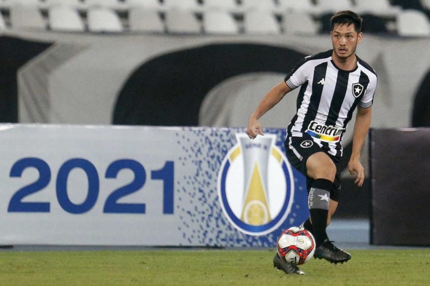 Chamusca elogia Luís Oyama, do Botafogo: 'Tem agregado muito à equipe'