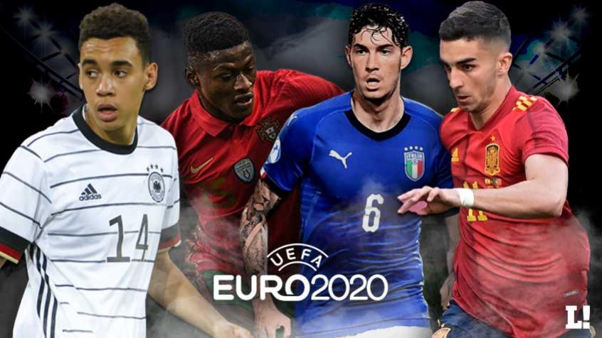 Veja dez jovens não tão badalados, mas que você deve ficar de olho na Eurocopa